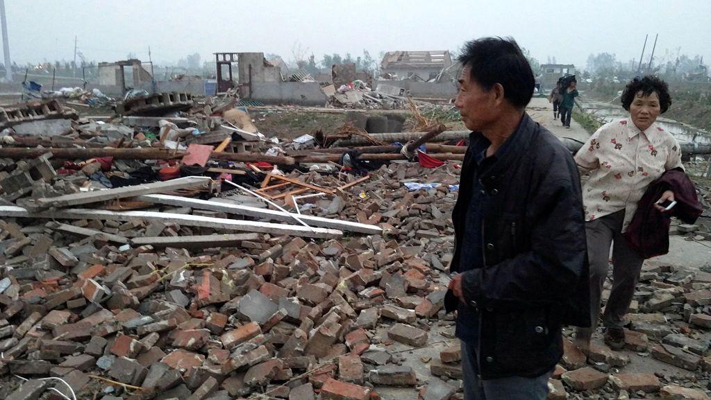 Korban Jiwa Akibat Tornado di China Bertambah Jadi 98 Orang, Ratusan Luka