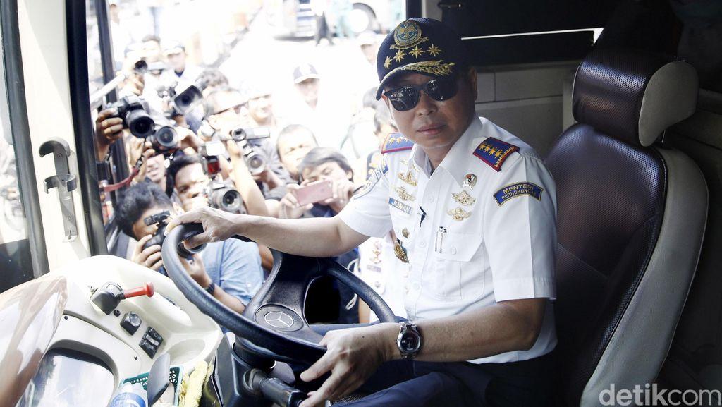Menteri Jonan Pastikan Terminal Tipe A Akan Dikelola Pemerintah Pusat