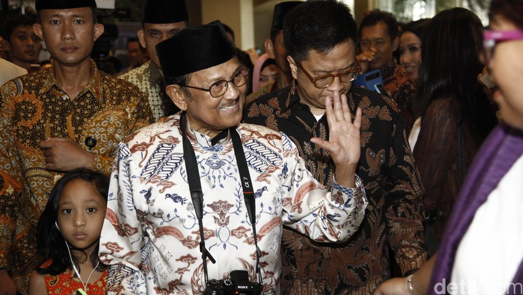 SBY: BJ Habibie Man of Ideas and Characters