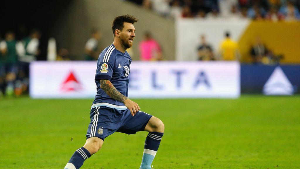Cedera Hamstring, Messi Bisa Absen Bela Argentina