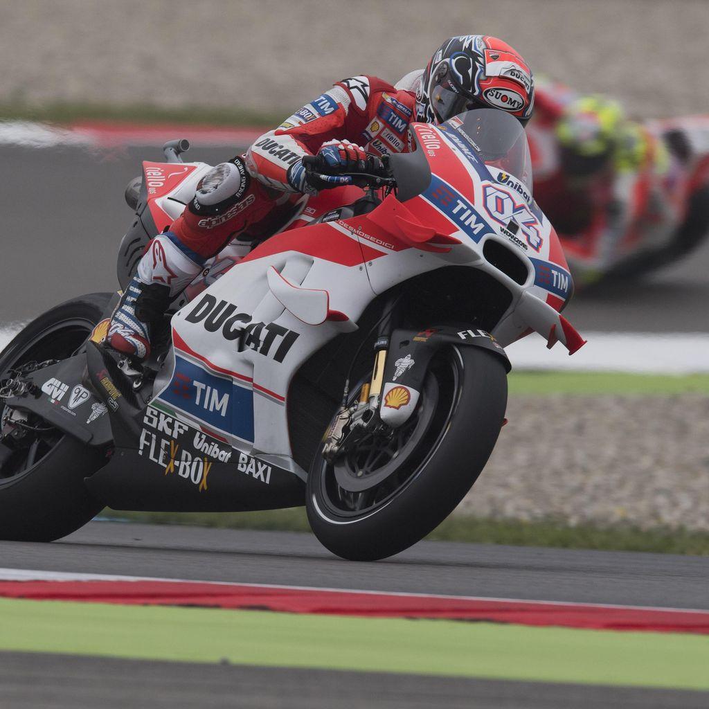 Raihan Pole Diakui Dovizioso Berkat Menguntit Rossi