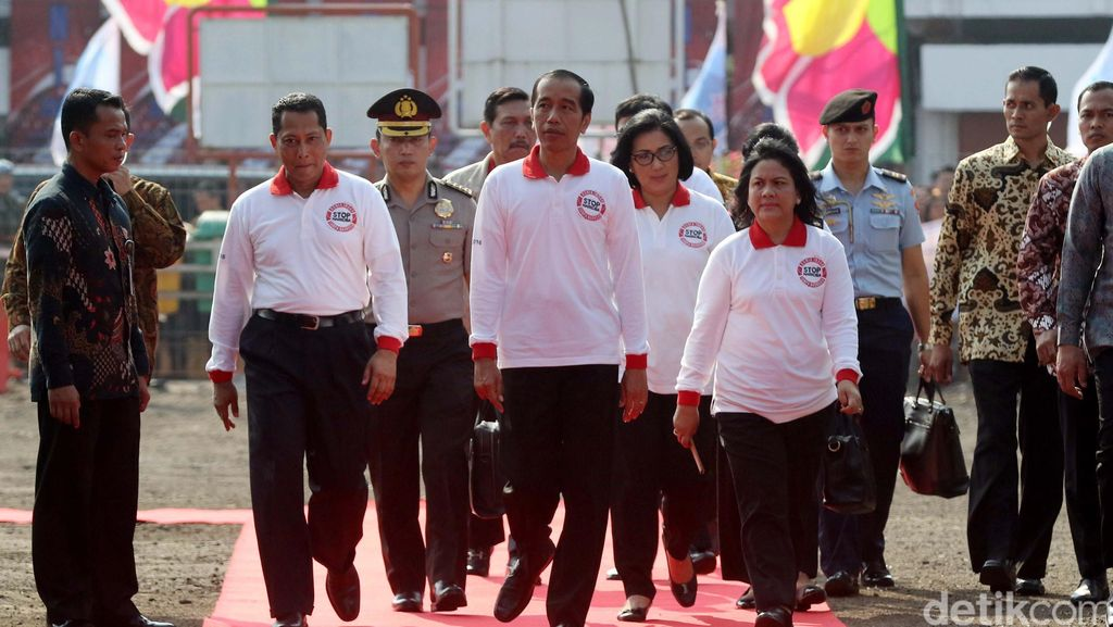 Jokowi Hadiri Peringatan Hari Anti Narkoba Internasional