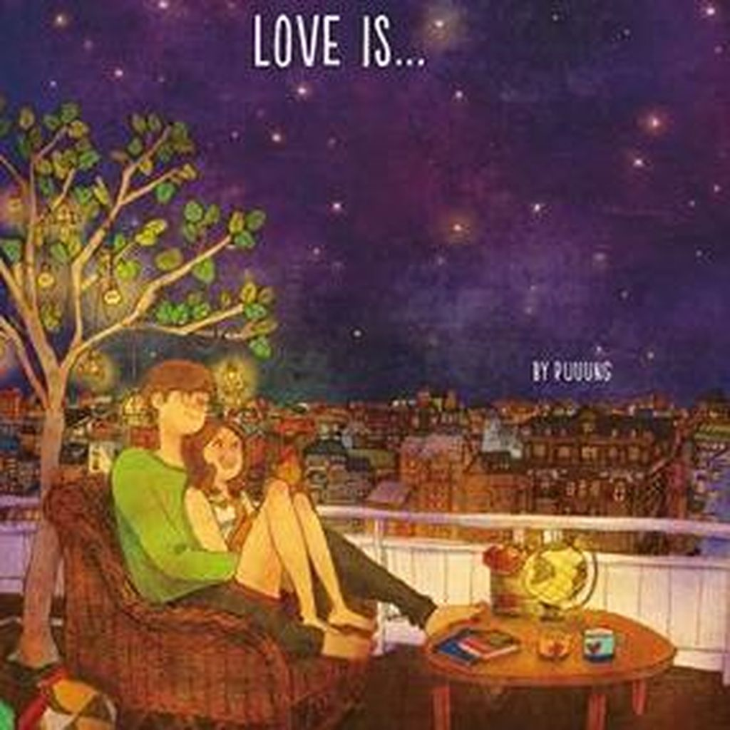 Ilustrator Korea Puung Rilis Buku Love Is di Indonesia