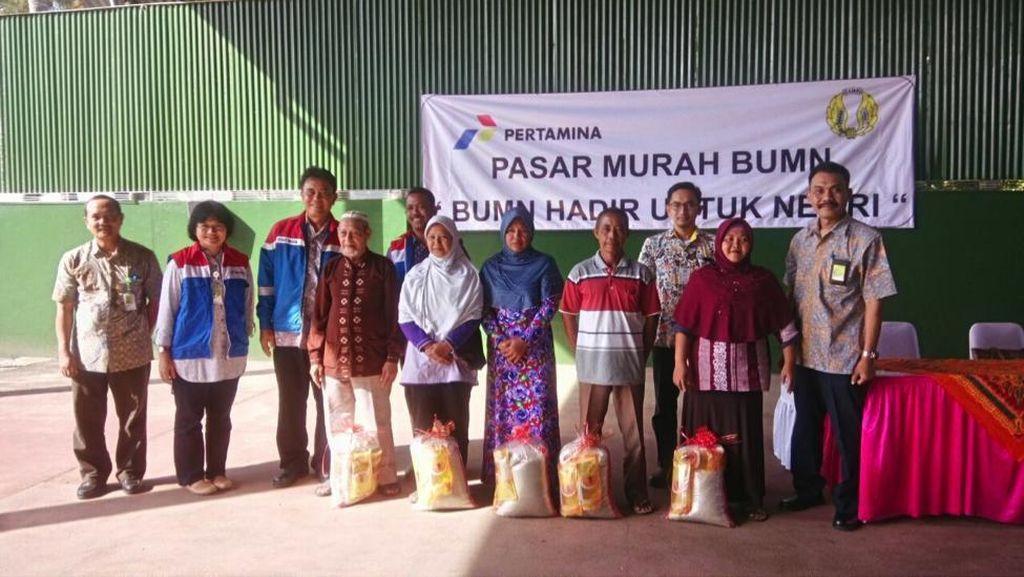 Pertamina Siapkan Lebih dari 40 Ribu Paket Sembako di Pasar Murah Sinergi BUMN 2016