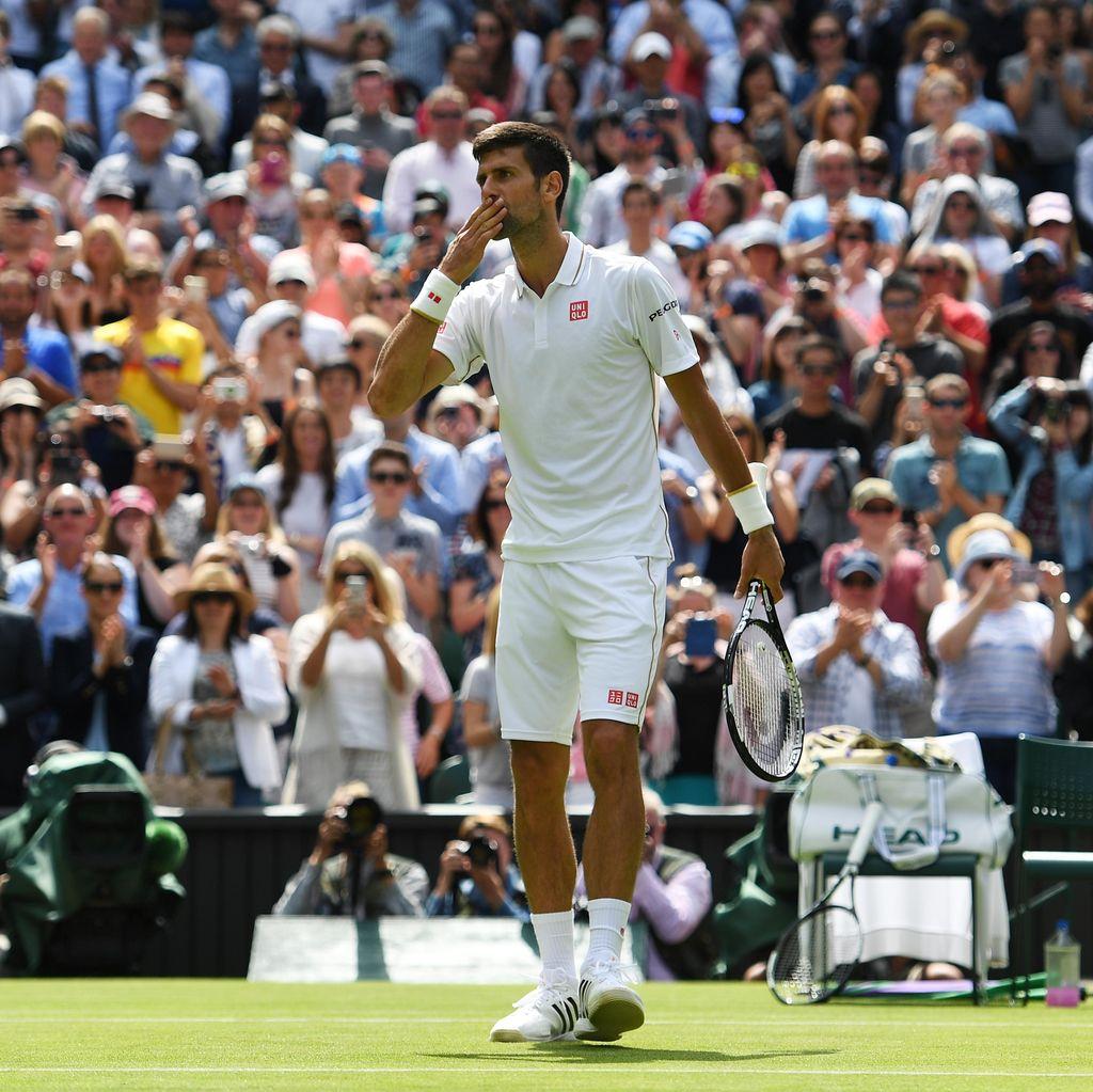Djokovic Memulai dengan Kemenangan Straight Set di Wimbledon
