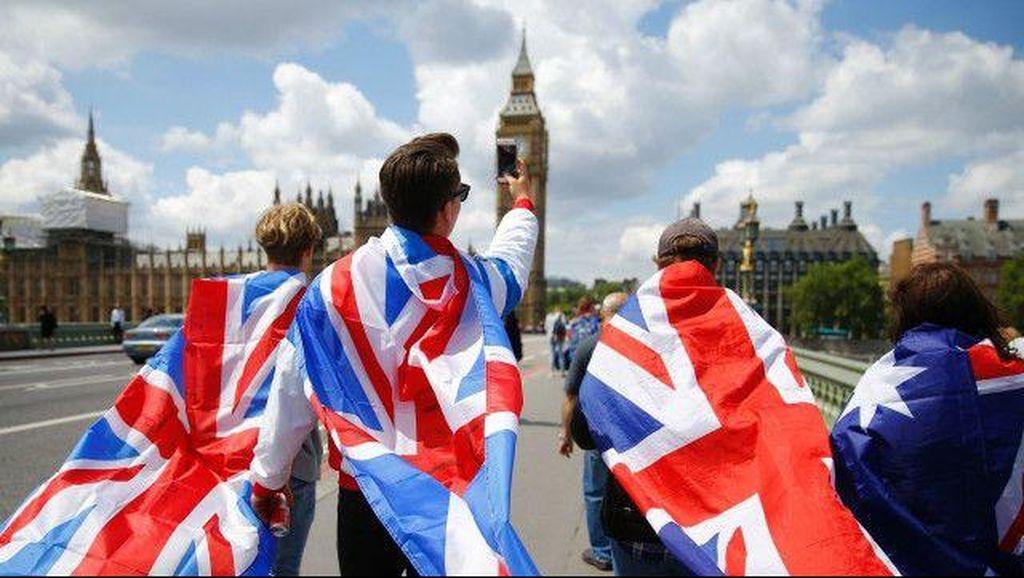 Protes Brexit, Demonstran Inggris Turun ke Jalan-jalan London