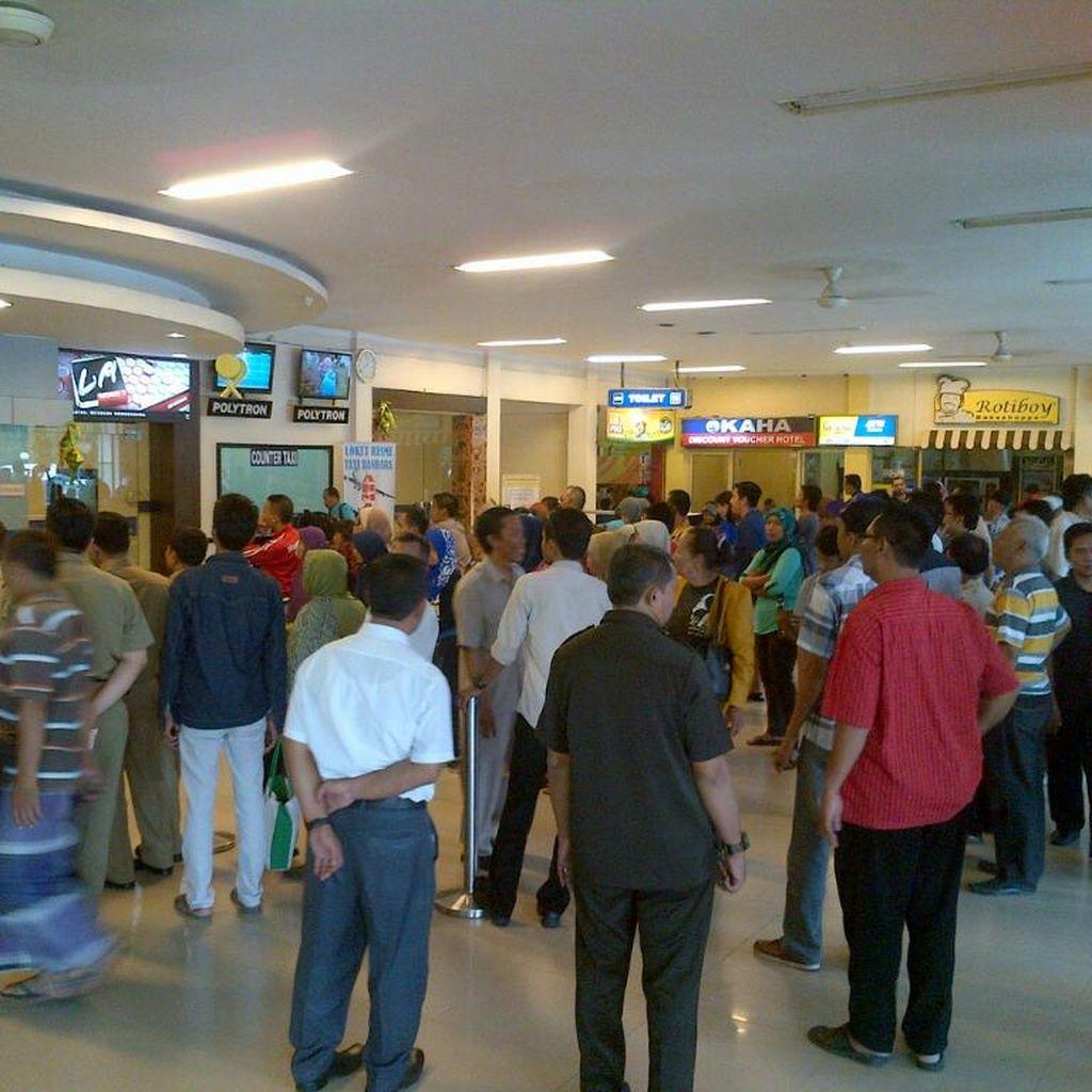 Bandara Ahmad Yani Semarang Mulai Dipadati Pemudik