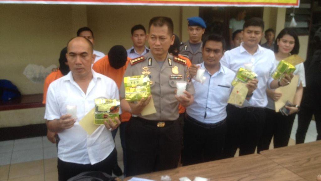 Polisi Bekuk Bandar Narkoba di Medan, 4,8 Kg Sabu Disita