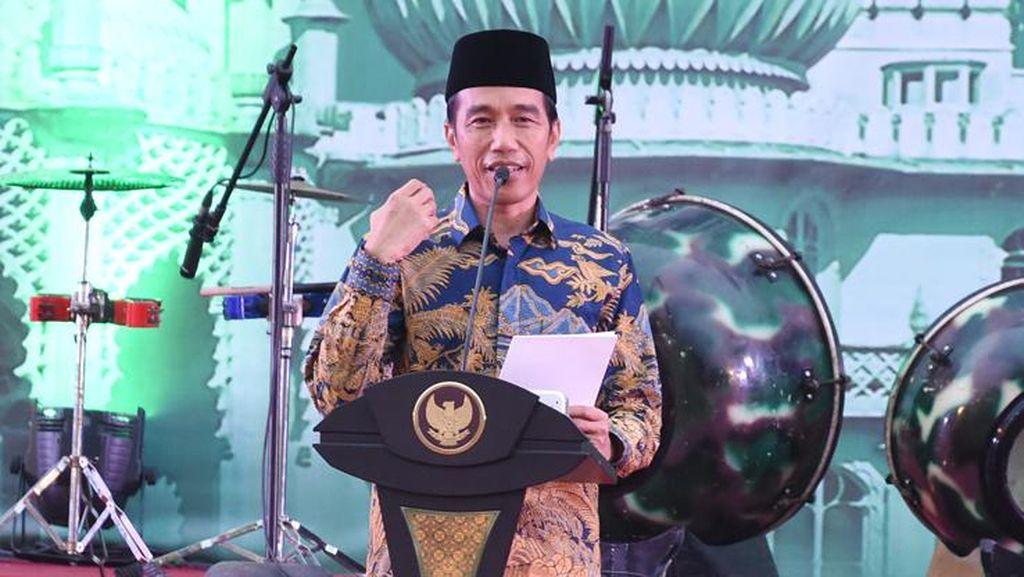 Presiden Jokowi: Alhamdulillah Tahun Ini Lebaran Bersamaan