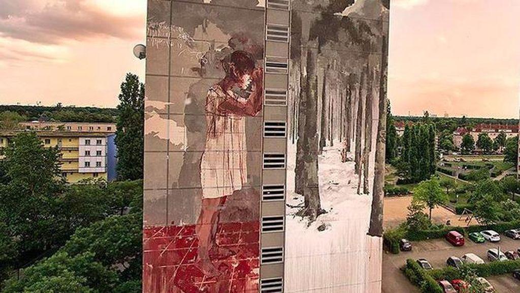 Soal Mural Berdarah di Berlin, Seniman Angkat Bicara