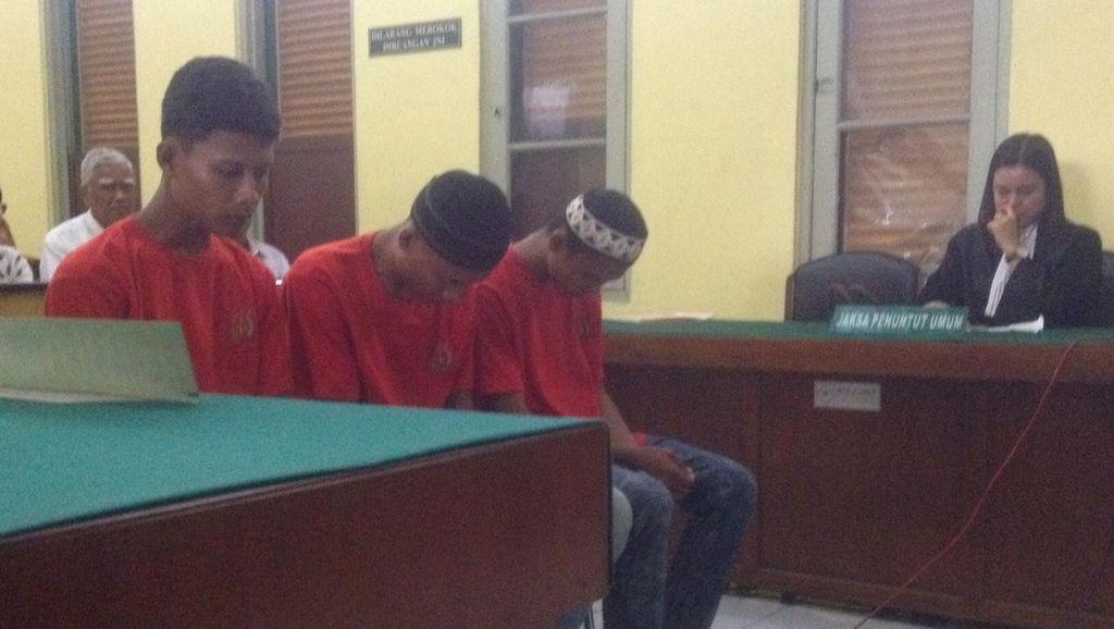 3 Bersaudara Pembunuh Lansia dan Cucu di Medan Dihukum Mati