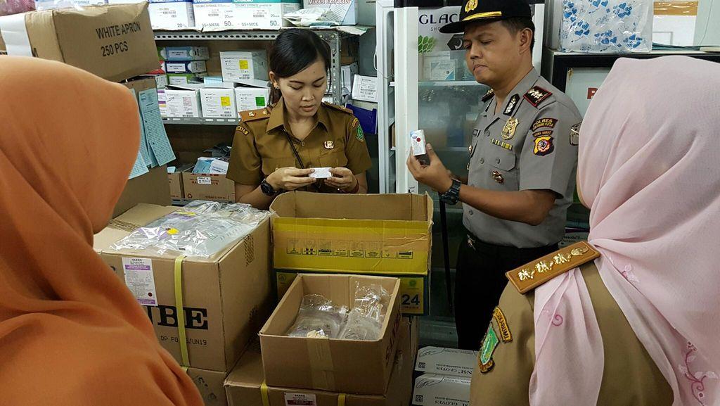 Lacak Vaksin Palsu, Polres Sukabumi Cek Rumah Sakit dan Apotik