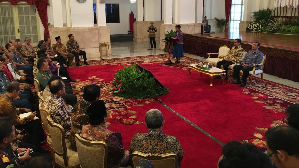 Presiden Jokowi Bangga Satgas 115 Ditakuti Pencuri Ikan