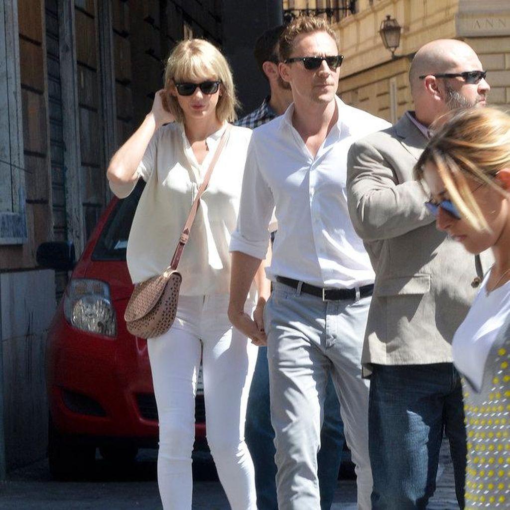 Taylor Swift dan Tom Hiddleston Dikabarkan Bertengkar karena Kesibukan