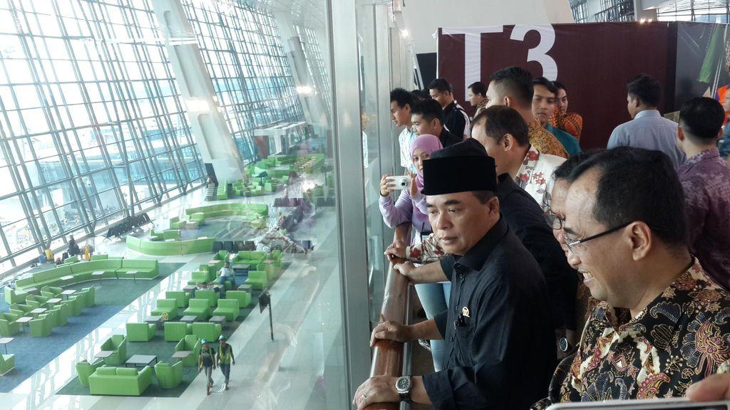 Terpukau dengan Terminal 3 Ultimate, Akom: Ini Bisa Mengimbangi Changi