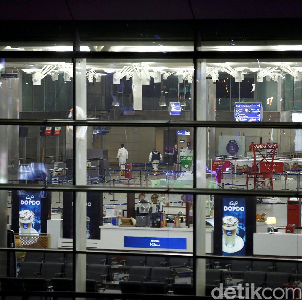 Pengebom Bunuh Diri di Bandara Turki Tiga Orang, 36 Orang Tewas