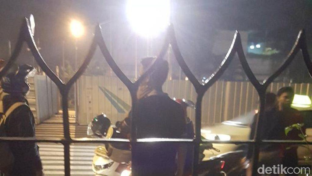 Jatuh dari Motor di Kebayoran Baru, 2 Remaja Putri Peserta SOTR Luka-luka