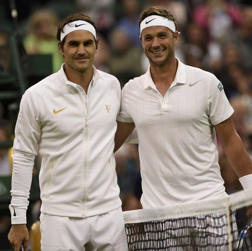 Federer Menang dan Lolos, Doakan Peringkat Lawannya Cepat Naik