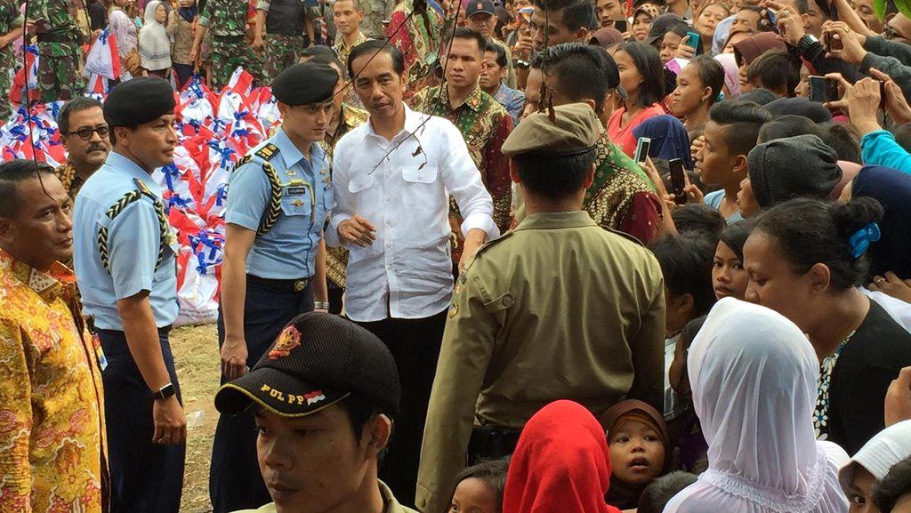 Relawan Dukung Maju Dua Periode, Ini Repons Jokowi