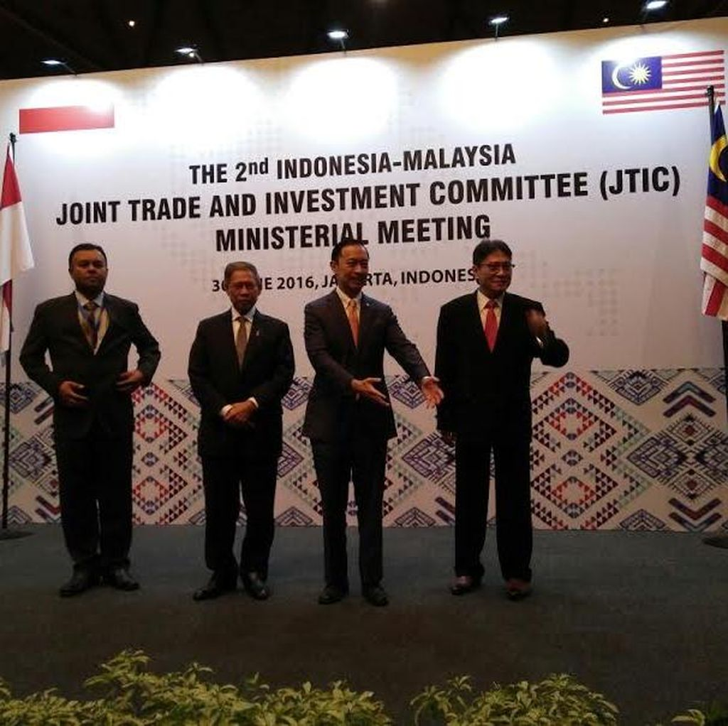 Lembong Temui Mendag Malaysia, Bahas Perdagangan di Perbatasan