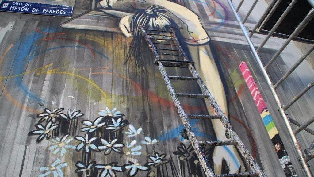 25 Street Artist Mancanegara Sulap Pabrik Tua di Madrid Jadi Artsy