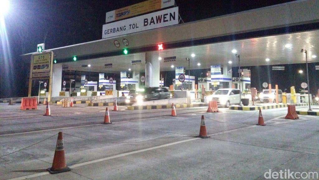 Jalur Alternatif Gerbang Tol Bawen-Salatiga Bisa Digunakan H-3 Lebaran