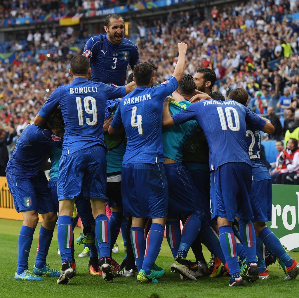 Jika Kalahkan Jerman, Italia Bisa Menangi Piala Eropa