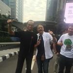 Jalan Kaki dari Bursa Efek ke Pondok Indah, Dirut BEI: Janji Harus Ditepati