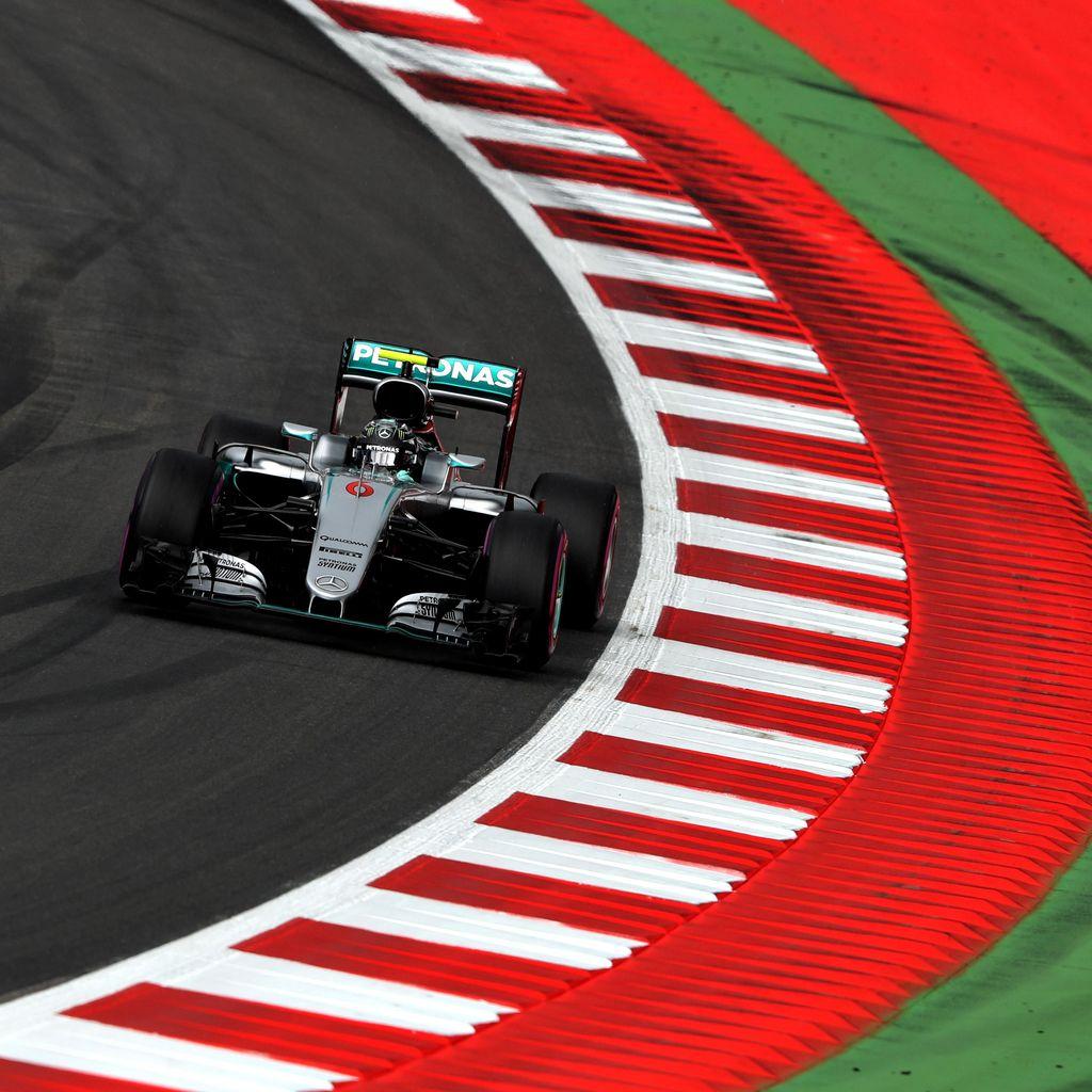 Rosberg Kembali Catat Waktu Tercepat