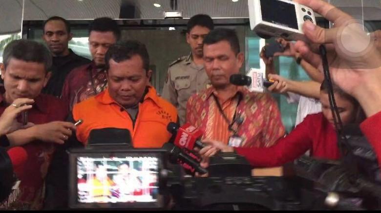 Santoso Resmi Ditahan KPK di Polres Jakarta Pusat