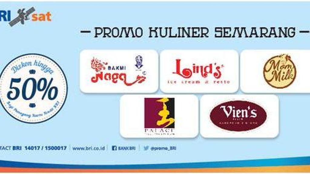 Promo Kuliner Semarang dengan Kartu Kredit BRI