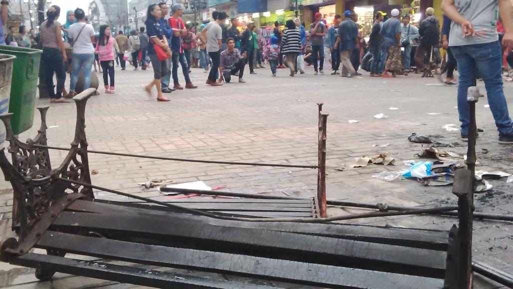 Polisi Tangkap 7 Pedagang Diduga Pelaku Perusakan Kantor Satpol PP Bandung