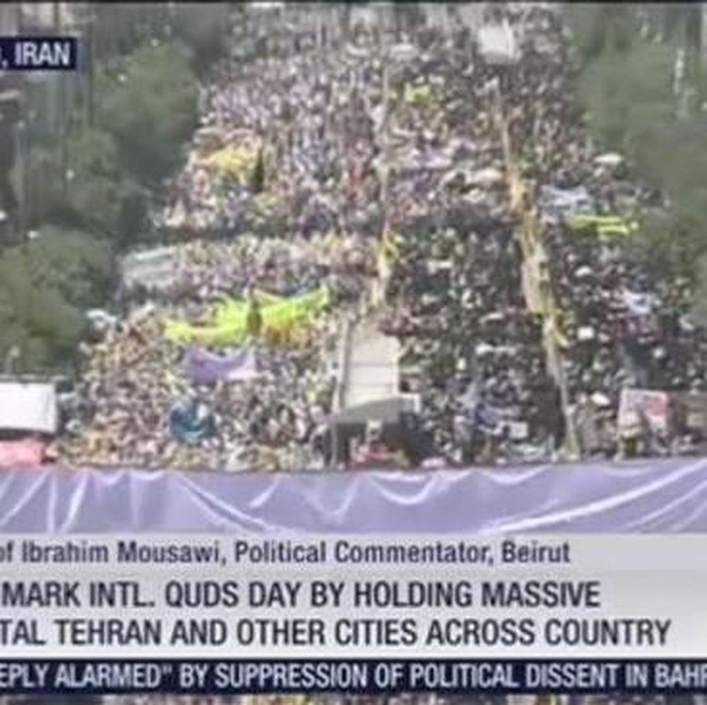 Jutaan Orang di Iran Ramaikan Hari Quds Internasional Untuk Dukung Palestina