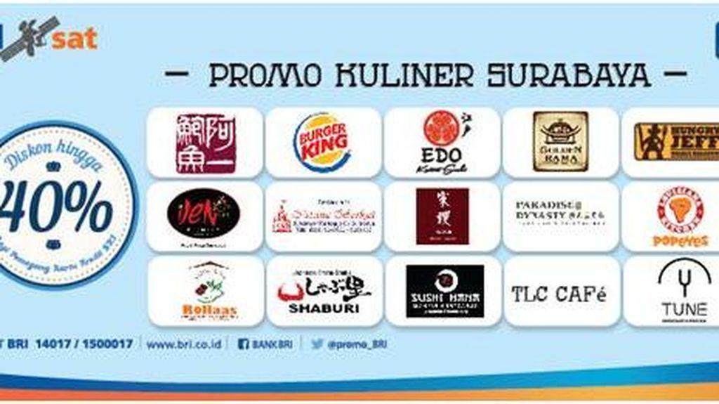 Promo Kuliner Surabaya dengan Kartu Kredit BRI