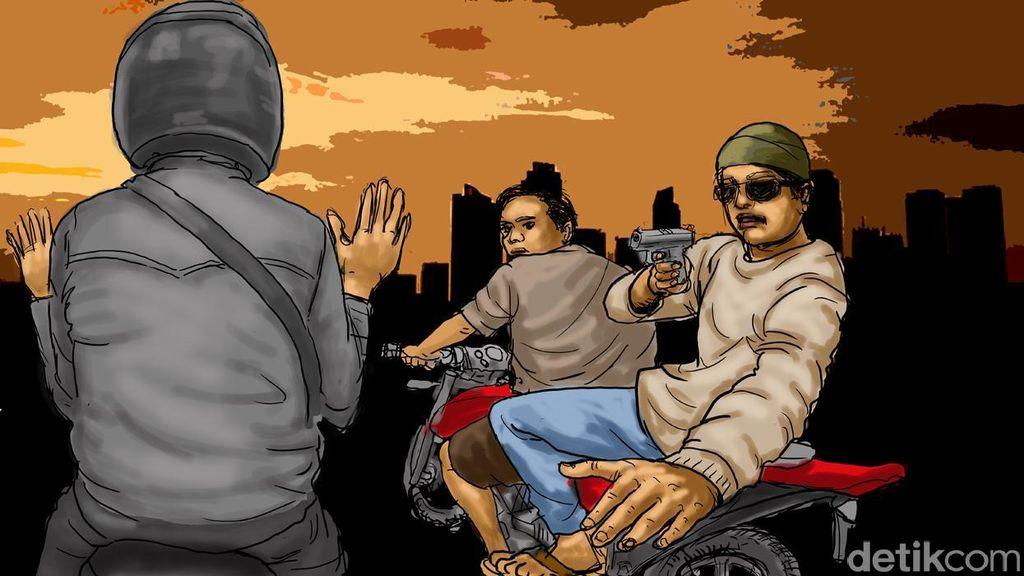 Anak Bawah Umur Ikut Dalam Kelompok Begal Sadis di Pekanbaru
