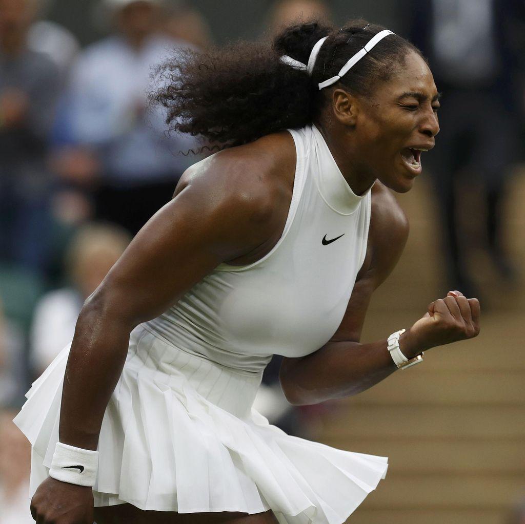 Serena Menang Setelah Bangkit dari Ketinggalan