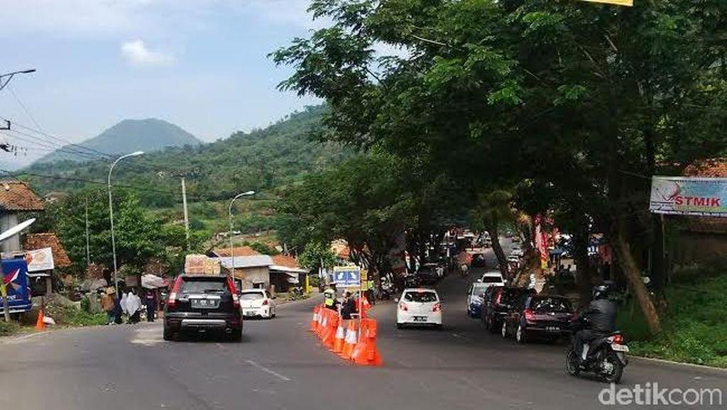 Siang ini Pemudik Bisa Pacu Kendaraan di Nagreg, Kemacetan Diprediksi Jelang Sore