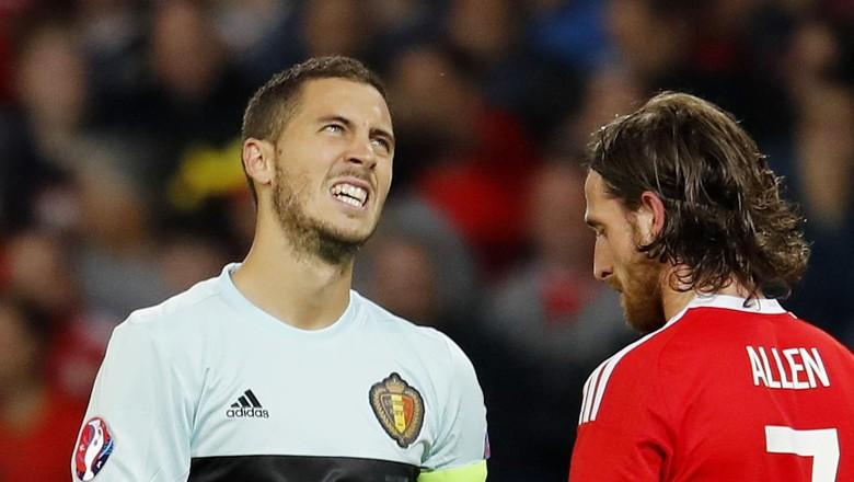 Hazard Sarankan Belgia Berbenah Usai Disingkirkan Belgia
