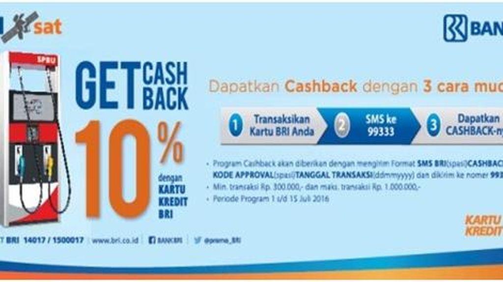 Cashback SPBU 10%