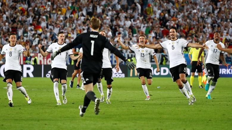 Jerman Catat Sejarah Kalahkan Italia Di Turnamen Resmi