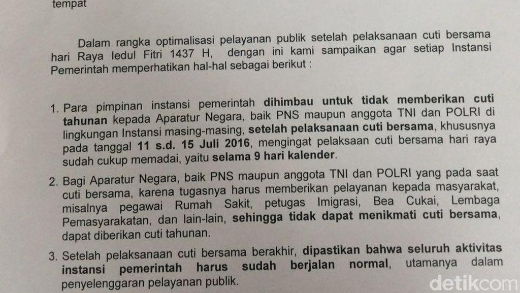Hari Pertama Kerja, 244 PNS Pemprov Riau Tak Ikut Apel