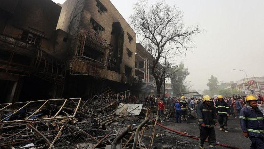 Kunjungi Lokasi Bom Baghdad yang Tewaskan 125 Orang, PM Irak Dihujat Warga