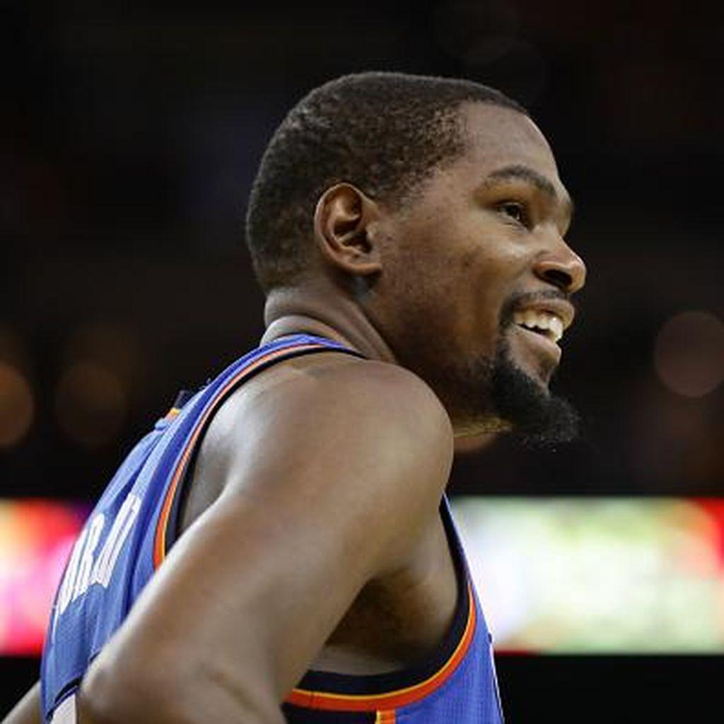 Durant Putuskan Bergabung dengan Warriors