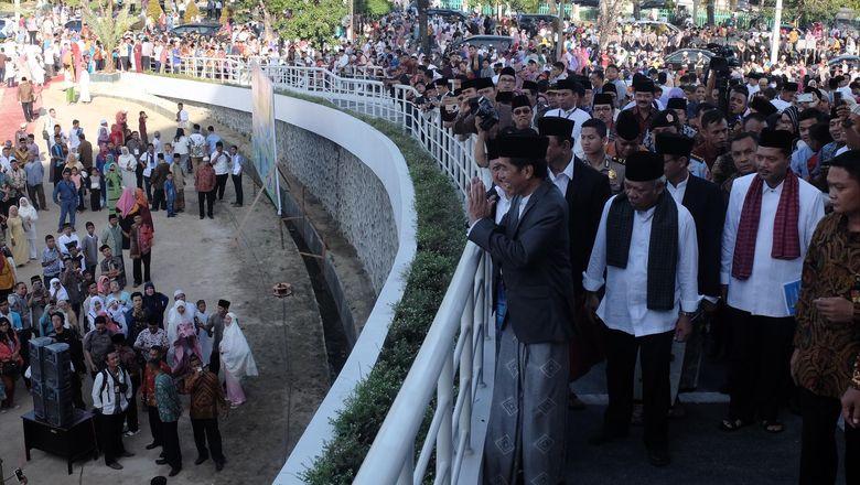 Presiden Jokowi Akan Rutin Berlebaran di Daerah