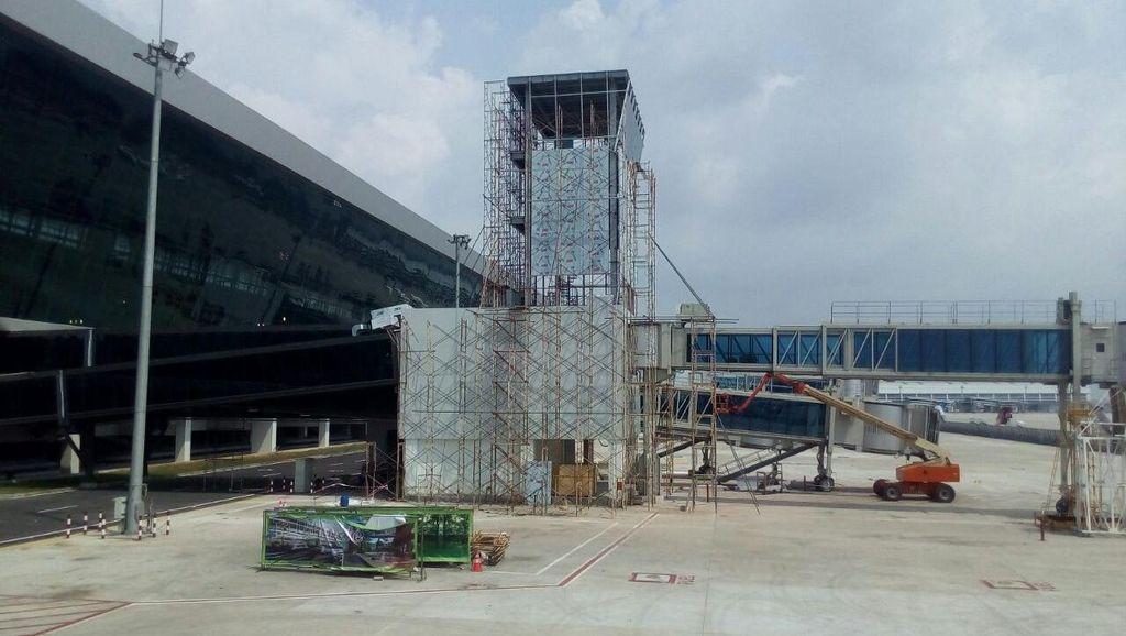 Presdir AP II Sebut SOP Subtower AMC Terminal 3 Ultimate Masih Dibuat