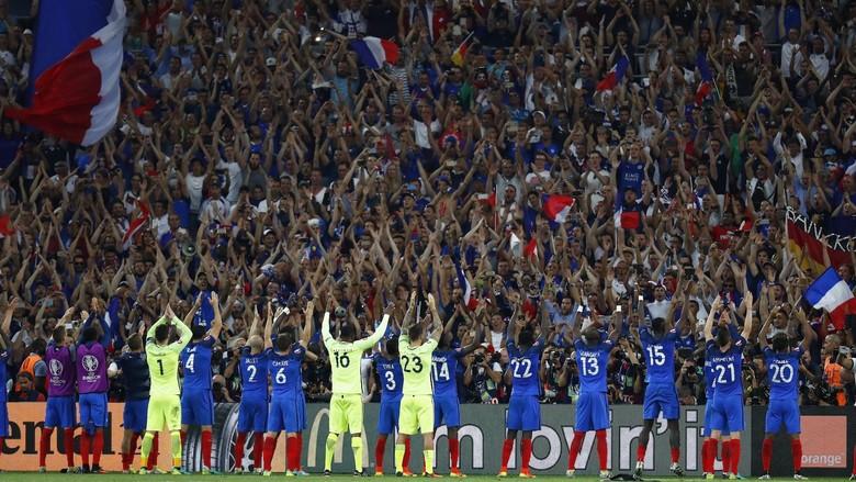 Prancis Menolak Gelar Favorit