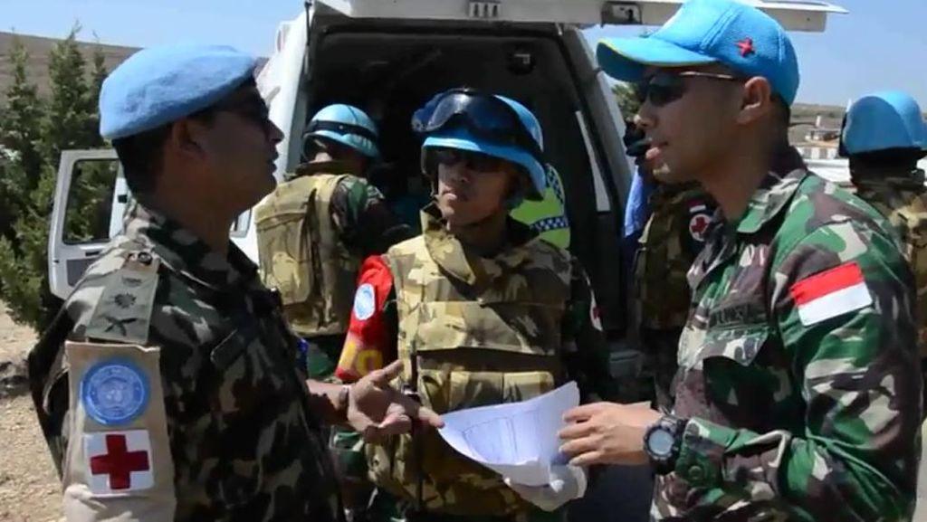 Saat Prajurit TNI Berlatih Angel Rescue di Lebanon