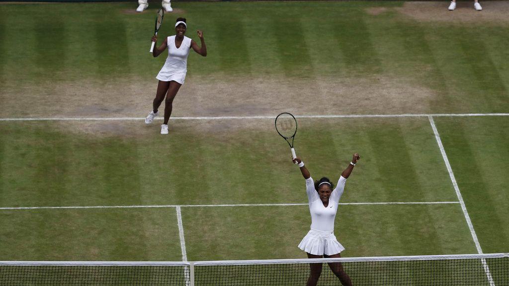 Cuma Terpaut Beberapa Jam Serena Mainkan Final Kedua... dan Kembali Juara!