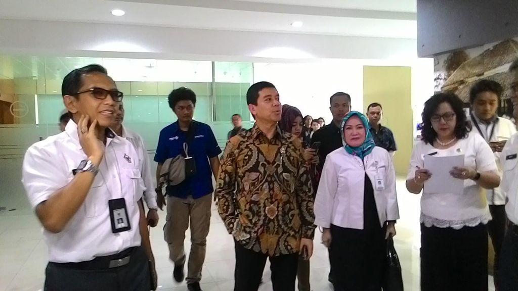 Menteri Yuddy Sidak ke BPK: Dari 3.200 Pegawai, Hanya 10 Orang Izin Cuti