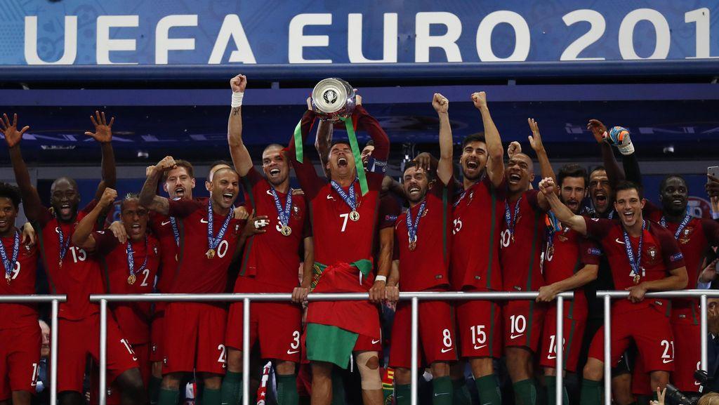Juara Piala Eropa, Portugal Naik Dua Tingkat di Peringkat FIFA